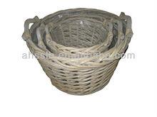 Wicker Garden Basket/ Willow Garden Basket