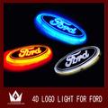 Nuovo stile 4d portato auto auto logo decal lampada di coda distintivo luce emblema posteriore adesivo lampada loghi auto simboli 14.5*5.6cm