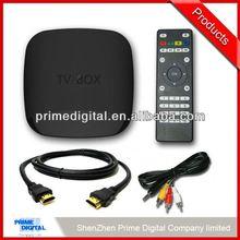 cheapest set top box digital tv tuner scart dvb t receiver