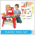 Melhor- vender diy ferramenta de plástico tabela crianças brinquedo famoso marcas