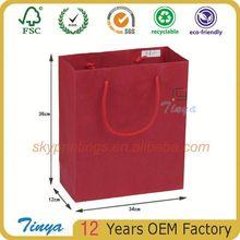 adornment paper bag packaging/Tinya paper bag
