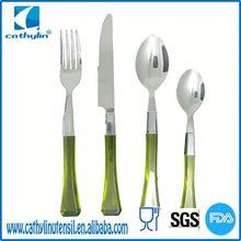Transparent handle, pragmatic ps cutlery