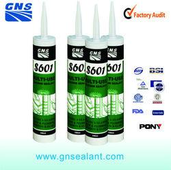 Asphalt adhesive silicone pneumatic sealant gun