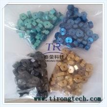 Din 934 Gr 5 colored Hex Titanium nut in plastic bag
