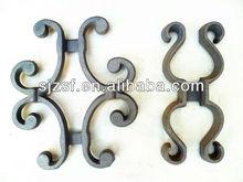 cast iron gate part