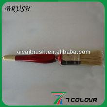 """1"""" multicolor wooden handle bristle paint brush,corner paint brush,watercolor paint brushes"""
