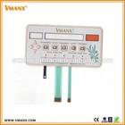 Custom embedded LED membrane switch