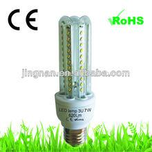 listed led light 7W 3u led corn lights with CE&RoHS certificates