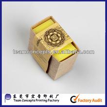handmade kraft soap box for packaging