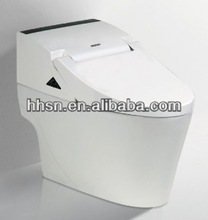 Bathroom Ceramic Intelligent Toilet Bowl Automatic Operation Sanitary ware Smart Toilet