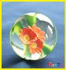 2014 New Design Beautiful Flower Rubber Bouncing Ball