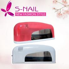2015 new design Nail Dryer 9W UV Gel Curing Lamp Light manufactor supplier
