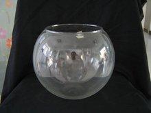 30cm diameter ball Glass fish bowl and fish jar