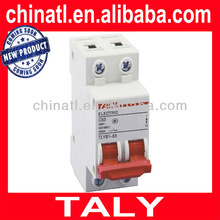Good quality 63A 2P miniature circuit breaker MCB