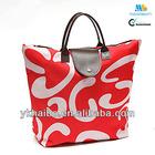 Fashion promotion folding shopping bag