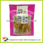 Custom design dried meat bag