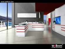 High-end MDF kitchen cabinet paint
