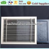 aluminum decorative return air filter grille