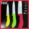 Color Handle FDA Approved Kitchen Ceramic Knife