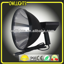 12V 300mm 75W HID High Quality Handheld Working Light/Lamp HID Xenon Handel Searching Light HID Handheld Hunting Spot light
