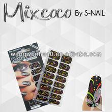 241 designs mixcoco nail foil, custom nail wraps, nail art wholesale (SNF169)