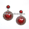 4.5x6.78cm jewelry,Popular Fashionable agate pendant earring jewelry J0021