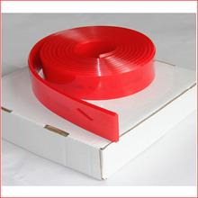 85Durometer red polyurethane beveled squeegee