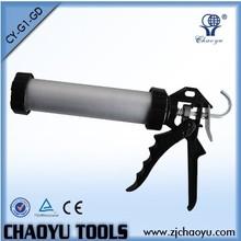 Aluminum Tube 300ml Sausage Caulking Gun Silicone Gun CY-G1-GD