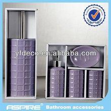 Hot sale luxury chromed shower set