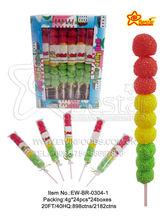 Traffic Light Fruits Jelly Ball Lollipop Candy