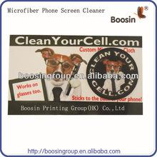 Hot Microfiber Mobile Phone Screen Cleaner Sticker