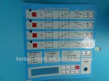 Tactile Membrane Switch Keypad, overlay, graphic overlay, custom panel