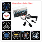 custom ghost shadow door light led, OEM car logo light