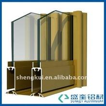 Aluminum cupboard aluminium cabinet Sliding Door Aluminum Profiles