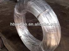 High carbon galvanized spring steel wire China supplier