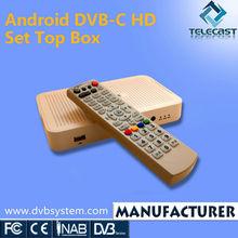 Android DVB-C HD STB IPTV