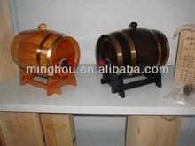 Shenzhen profession manufacture delicate wooden wine barrel