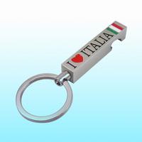 custom metal cool bottle opener keychains