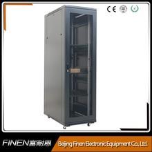 """China outdoor floor standing mesh door 19"""" Server rack cabinets"""