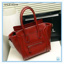 2014 famous tote PU brand handbag woman fashion bags