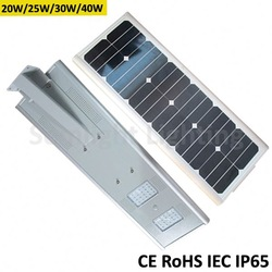 Solar panel/battery/controller/led light all-in-one solar integrated roof tile