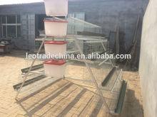 Galvanised steel layer cage(128birds/set)