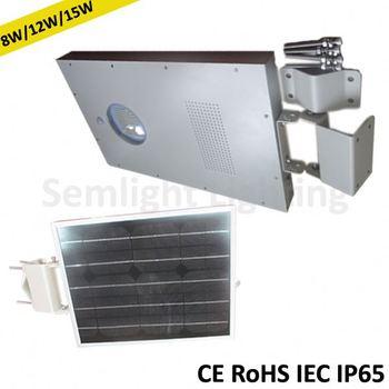 Unify solar panael/battery/controller/led light epistar chip solar planet
