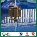 Recinzione piscina di vetro 180 gradi cerniera, cerniera inox