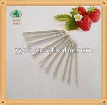 bamboo food picks and skewers