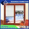 New style modern design powder coated aluminum exterior wood sliding doors