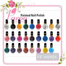 China factory stamping nail polish nail paint 10ml