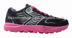 Good quality black color fashion import shoes