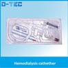 Short term use Hemodialysis catheter, CE certified hemodialysis catheter, double lumen hemodialysis catheter