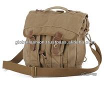 2014 newest design canvas leather shoulder bags for men